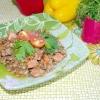 Сочевиця з овочами і фореллю - рецепт