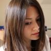 Шоколадно коричневий колір волосся - 50 фото