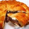 Донський пиріг з лівером і цибулею