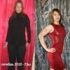 Історія схуднення олександри сіманькіной на 34 кілограми. Силові тренування. Фото до і після