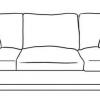 Як намалювати диван поетапно