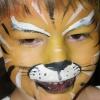 Як намалювати на обличчі лисицю