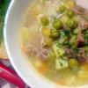 Як приготувати суп із зеленого горошку