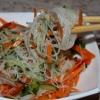 Які салати можна приготувати з фунчозой