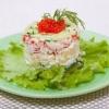 Який склад крабового салату