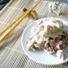 Кальмар з курячою грудкою і морською капустою - рецепт