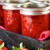 Конфітюр з полуниці: рецепт на зиму з желатином, з яблучним пюре