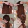 Червоно коричневий колір волосся на довге волосся - 13 фото