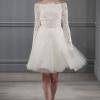 Короткі весільні сукні: 65 фото різних нарядів для нареченої