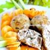 Котлетки з диким рисом і морквою - рецепт