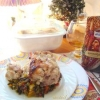 Кролик запечений з диким рисом і овочами. (Святкова вечеря) - рецепт