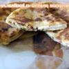 Коржик з бринзою, черемшею і в`яленими помідорами - рецепт