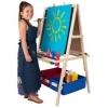 Мольберт дитячий двосторонній. Вчимо дітей малювати і писати!