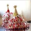 Новорічні іграшки-орігамі на ялинку з паперу