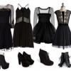Сукня у стилі чикаго - з чим носити