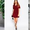 Плаття із замші - правила поєднання модного тренду