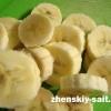 Корисне морозиво з банана