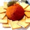 Святковий сирний куля з моцарелою, пармезаном, вершковим сиром і в`яленої журавлиною - рецепт