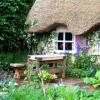 Сад в сільському стилі - простота і близькість до природи