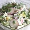 Салат картопляний з редискою