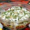 Салат з копченої курячої грудкою (покроковий рецепт з фото)