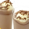 Шоколадний молочний коктейль з морозивом (рецепт)