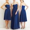 Синє плаття - розкішне вбрання