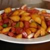 Як приготувати м`ясо з картоплею
