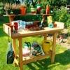 Стіл для пересаджування рослин