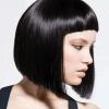 Стрижка з короткою чубчиком на середні волосся: вибираємо оптимальну форму