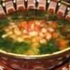Суп квасолевий по-болгарськи в аерогрилі