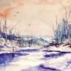 Вчимося малювати зимовий пейзаж: перейнятися атмосферою казки