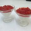 Ванільний пудинг з джемом зі свіжої полуниці - рецепт