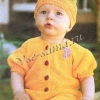 Жовтий комбінезон і шапочка